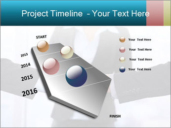 Businessmen shaking hands PowerPoint Template - Slide 26