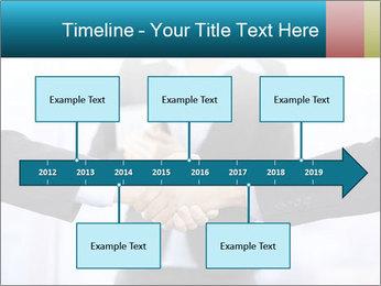 Businessmen shaking hands PowerPoint Template - Slide 28