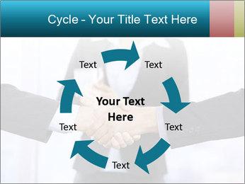 Businessmen shaking hands PowerPoint Template - Slide 62