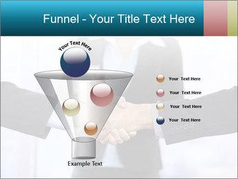 Businessmen shaking hands PowerPoint Template - Slide 63