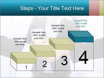 Businessmen shaking hands PowerPoint Template - Slide 64
