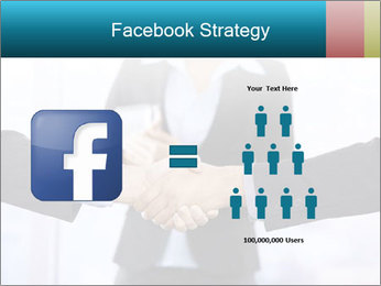 Businessmen shaking hands PowerPoint Template - Slide 7