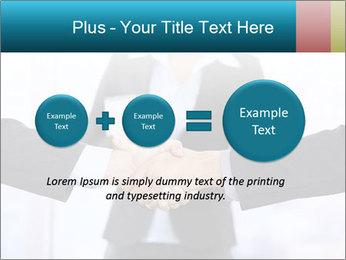 Businessmen shaking hands PowerPoint Template - Slide 75