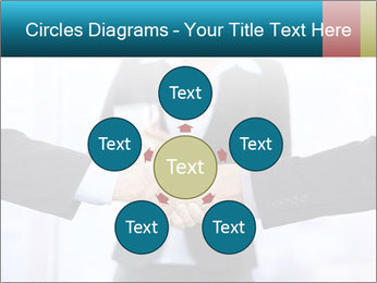 Businessmen shaking hands PowerPoint Template - Slide 78