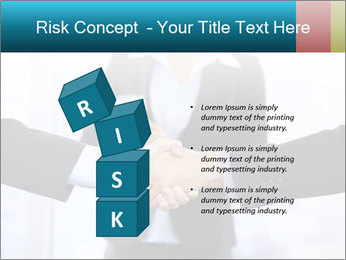 Businessmen shaking hands PowerPoint Template - Slide 81