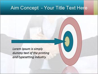 Businessmen shaking hands PowerPoint Template - Slide 83