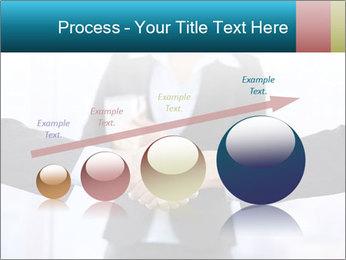 Businessmen shaking hands PowerPoint Template - Slide 87
