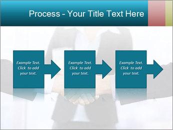 Businessmen shaking hands PowerPoint Template - Slide 88
