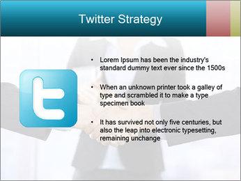 Businessmen shaking hands PowerPoint Template - Slide 9