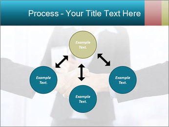 Businessmen shaking hands PowerPoint Template - Slide 91