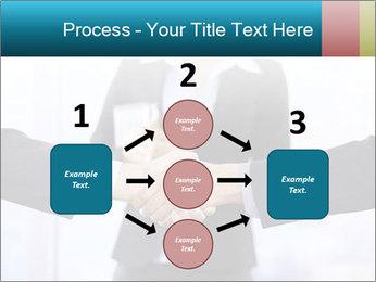 Businessmen shaking hands PowerPoint Template - Slide 92