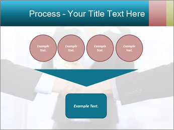 Businessmen shaking hands PowerPoint Template - Slide 93