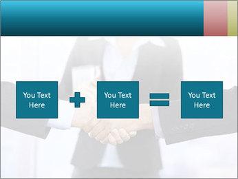 Businessmen shaking hands PowerPoint Template - Slide 95