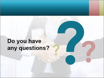 Businessmen shaking hands PowerPoint Template - Slide 96