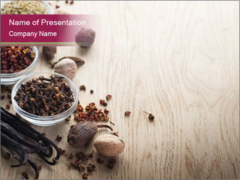 Spice PowerPoint Template