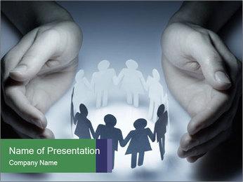 People PowerPoint Template - Slide 1