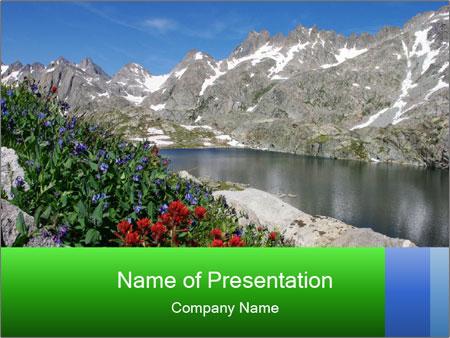 Alpine Flowers PowerPoint Templates