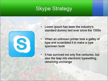 Alpine Flowers PowerPoint Templates - Slide 8