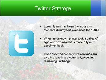 Alpine Flowers PowerPoint Templates - Slide 9