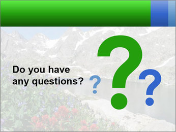 Alpine Flowers PowerPoint Templates - Slide 96