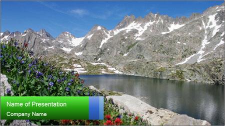 Alpine Flowers PowerPoint Template