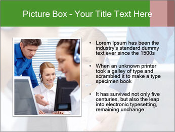 Boss explaining work PowerPoint Templates - Slide 13