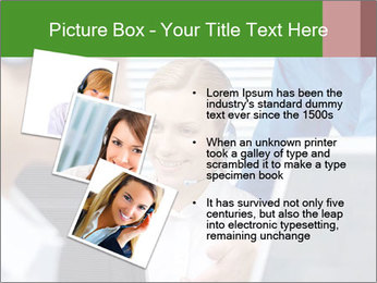 Boss explaining work PowerPoint Templates - Slide 17