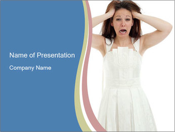 Angry bride PowerPoint Templates - Slide 1
