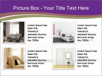 White sofa PowerPoint Template - Slide 14