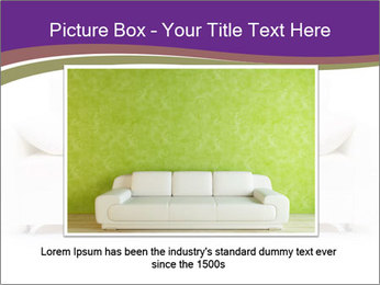 White sofa PowerPoint Template - Slide 15