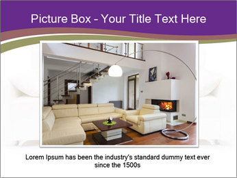 White sofa PowerPoint Template - Slide 16