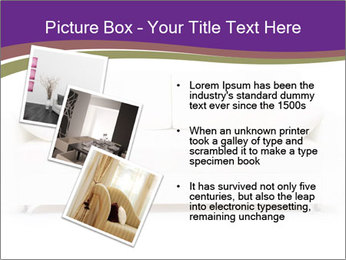 White sofa PowerPoint Template - Slide 17