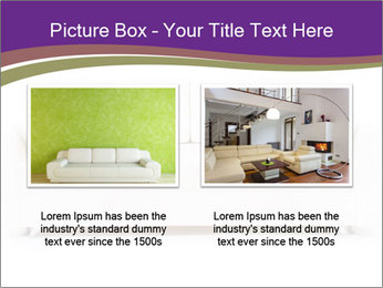 White sofa PowerPoint Template - Slide 18