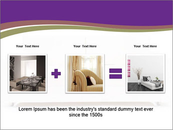 White sofa PowerPoint Template - Slide 22