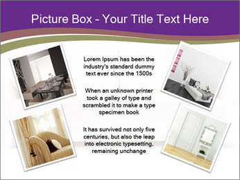 White sofa PowerPoint Template - Slide 24