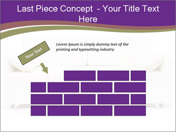 White sofa PowerPoint Template - Slide 46