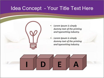 White sofa PowerPoint Template - Slide 80