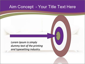 White sofa PowerPoint Template - Slide 83