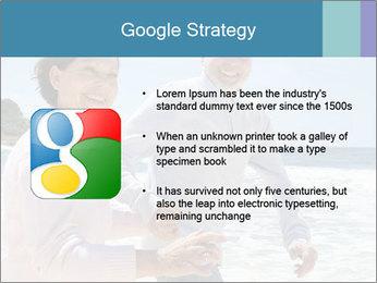 Senior couple running PowerPoint Template - Slide 10