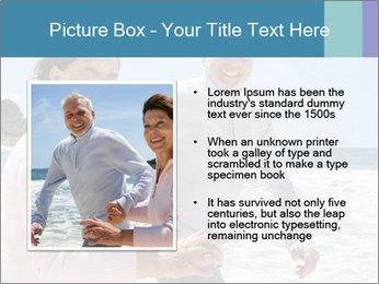 Senior couple running PowerPoint Template - Slide 13