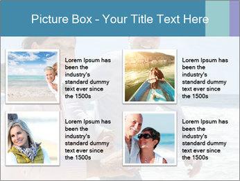 Senior couple running PowerPoint Template - Slide 14