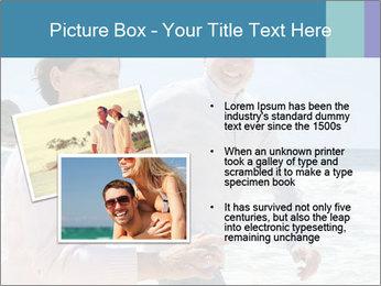 Senior couple running PowerPoint Template - Slide 20