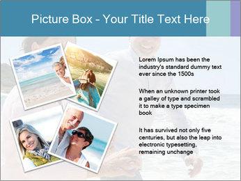 Senior couple running PowerPoint Template - Slide 23