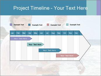 Senior couple running PowerPoint Template - Slide 25