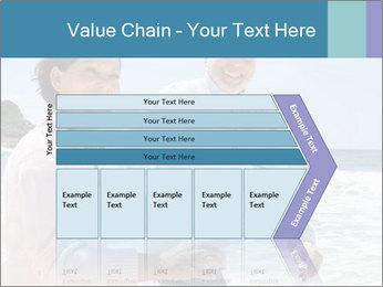 Senior couple running PowerPoint Template - Slide 27