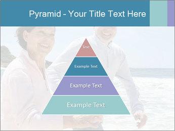 Senior couple running PowerPoint Template - Slide 30