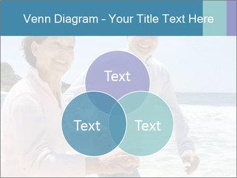 Senior couple running PowerPoint Template - Slide 33