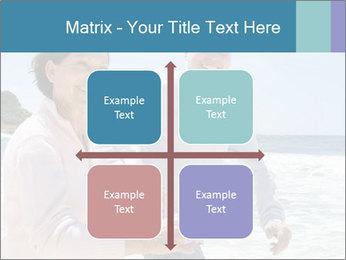 Senior couple running PowerPoint Template - Slide 37