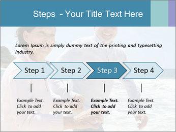 Senior couple running PowerPoint Template - Slide 4
