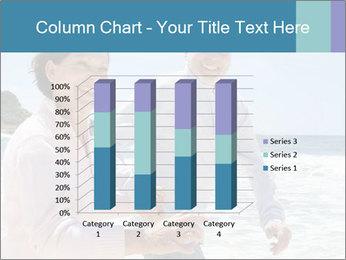 Senior couple running PowerPoint Template - Slide 50
